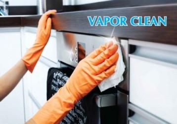 โปรแกรมทำความสะอาด VAPOR CLEAN เป็นโปรแกรมทำความสะอาด เตาอบไฟฟ้าซึ่งสามารถบอกได้จากชื่อของโปรแกรมได้เลยว่ามีการใช้ไอน้ำมาเป็นกลไกหนึ่งในการทำความสะอาดอย่างแน่นอน และลักษณะที่สำคัญของโปรแกรมทำความสะอาด VAPOR CLEAN