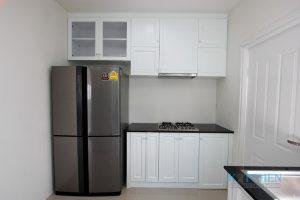 บิ้วท์อินห้องครัวให้สวยเนียนด้วยสีพ่น