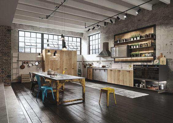 ห้องครัวสไตล์อินดัสเตรียล (Industrial Style)
